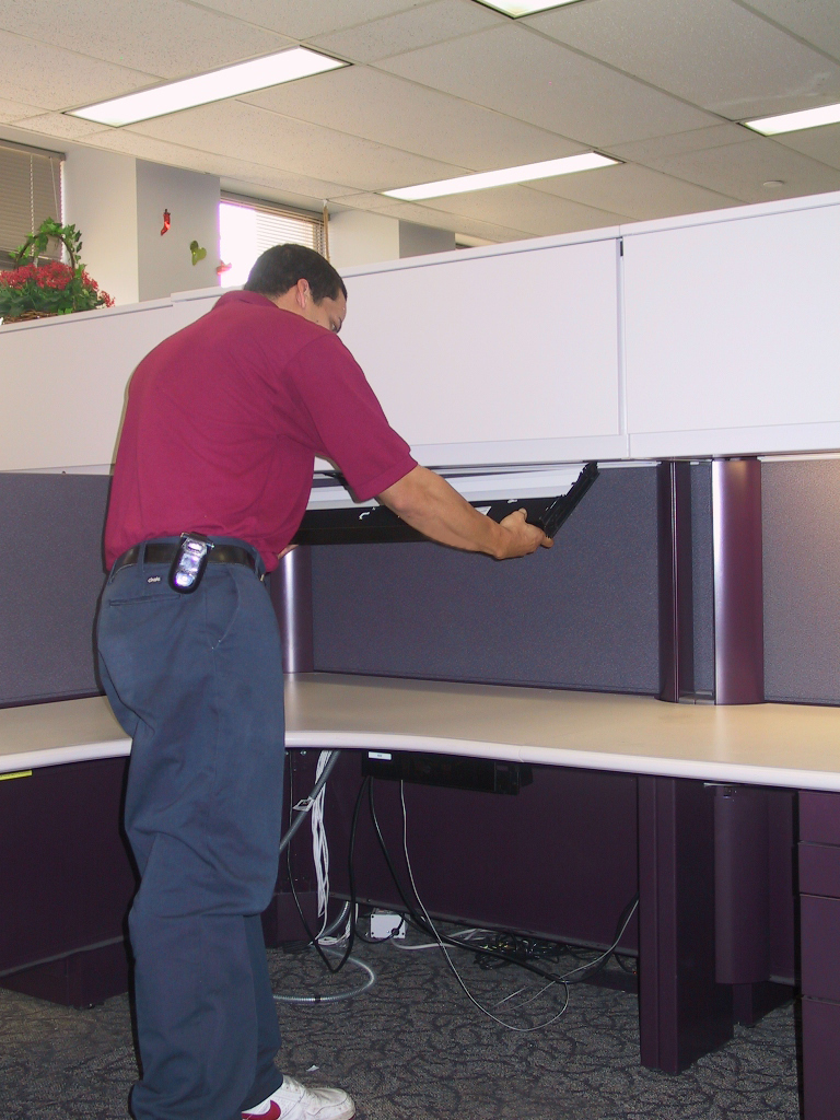 Installation services office interiors of virginia - Office furniture installers ...