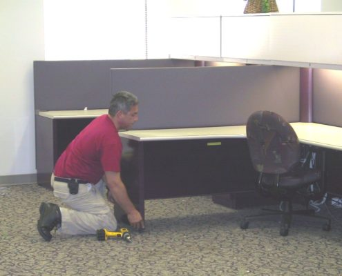 Virginia Office Furniture Installation